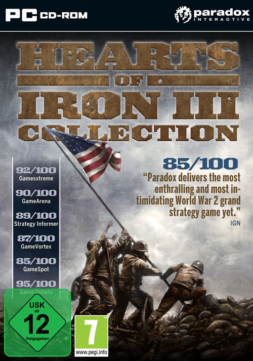 Hearts of Iron III Collection - Cover