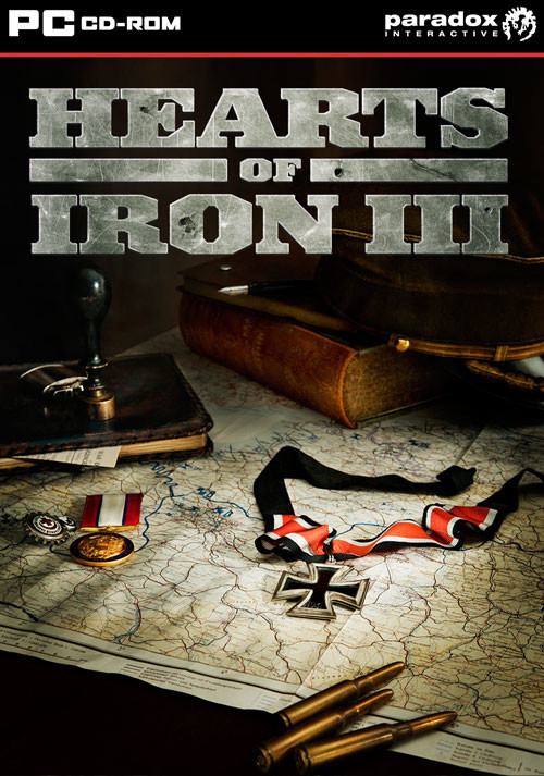 Hearts of Iron III - Cover