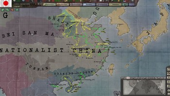 Screenshot7 - Hearts of Iron III: Their Finest Hour