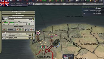 Screenshot10 - Hearts of Iron III: For the Motherland