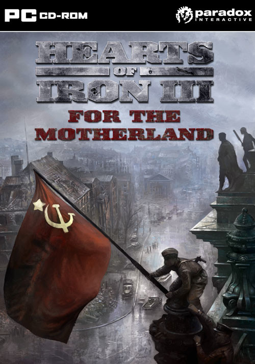 Hearts of Iron III: For the Motherland - Cover / Packshot