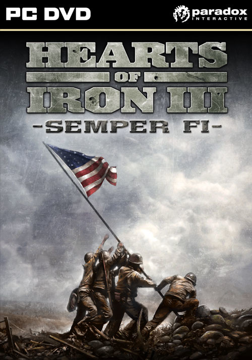 Hearts of Iron III: Semper Fi - Cover / Packshot