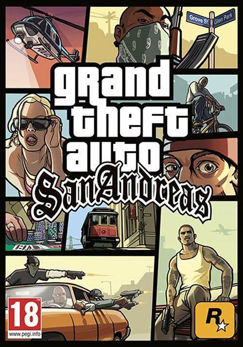 Grand Theft Auto: San Andreas - Packshot
