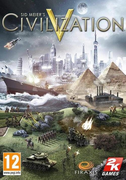 Civilization V - Cover / Packshot