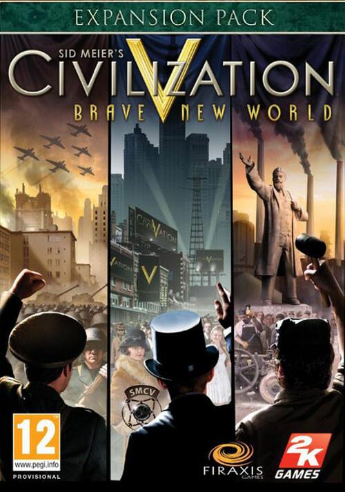 Civilization V: Brave New World - Cover