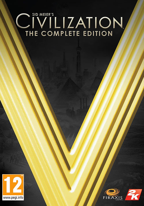Civilization V: The Complete Edition - Cover