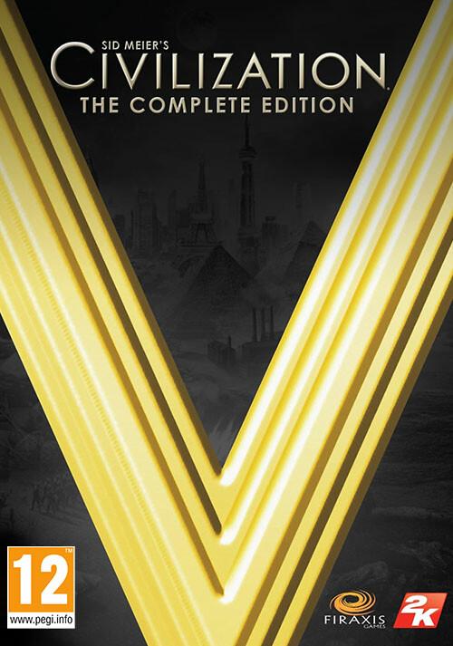 Civilization V: The Complete Edition - Cover