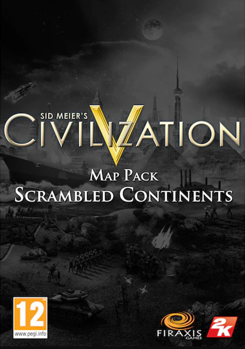 Civilization V: Scrambled Continents - Cover / Packshot