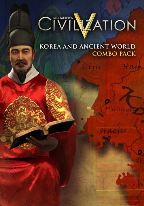 Civilization V - Korea and Ancient World Combo Pack - Cover / Packshot