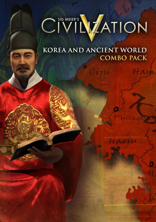 Civilization V - Korea and Ancient World Combo Pack - Cover / Packshot