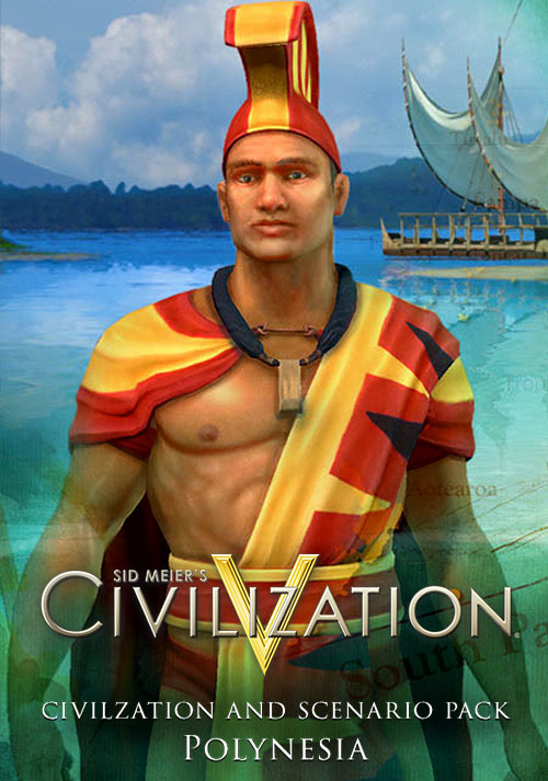 Sid Meier's Civilization V: Civilization and Scenario Pack: Polynesia - Cover / Packshot