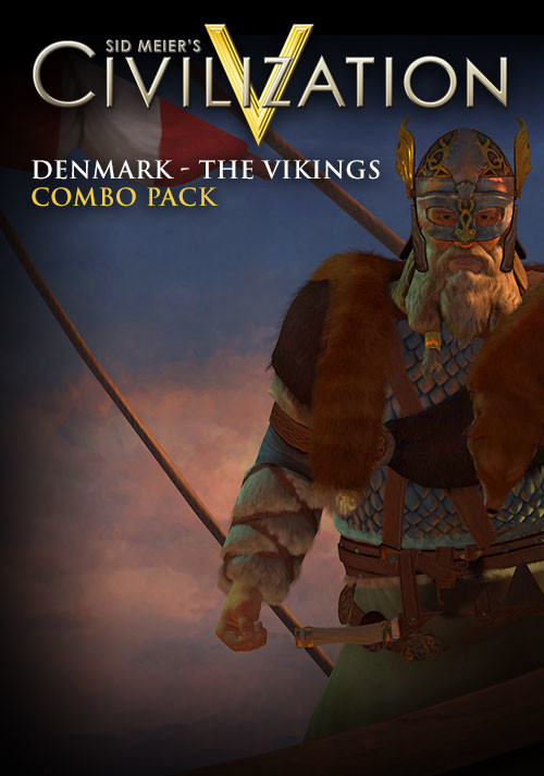 Civilization V - Civilization and Scenario Pack: Denmark - The Vikings - Cover / Packshot
