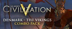 Civilization V - Civilization and Scenario Pack: Denmark - The Vikings