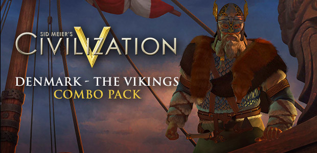 Civilization V - Civilization and Scenario Pack: Denmark - The Vikings - Cover / Packshot
