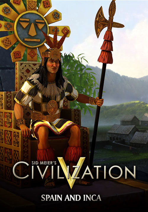 Civilization V - Double Civilization and Scenario Pack: Spain and Inca - Cover / Packshot