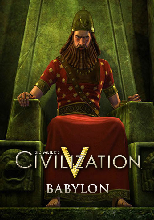 Civilization V: Babylon DLC - Packshot