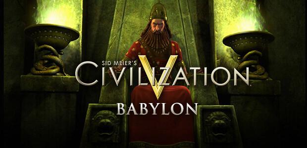 Civilization V: Babylon DLC - Cover / Packshot