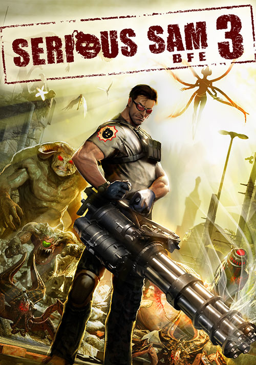 Serious Sam 3: BFE - Cover / Packshot