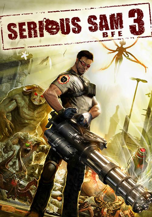 Serious Sam 3: BFE - Cover / Packshot