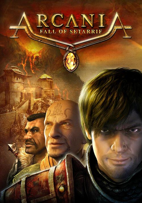 Arcania - Fall of Setarrif - Cover / Packshot