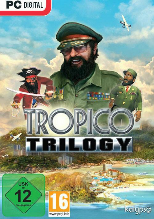 Tropico Trilogy - Cover / Packshot