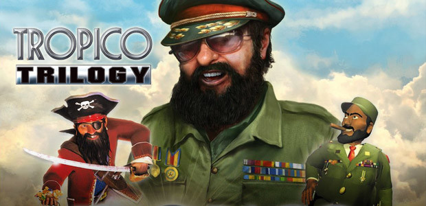 Tropico Trilogy - Cover / Packshot