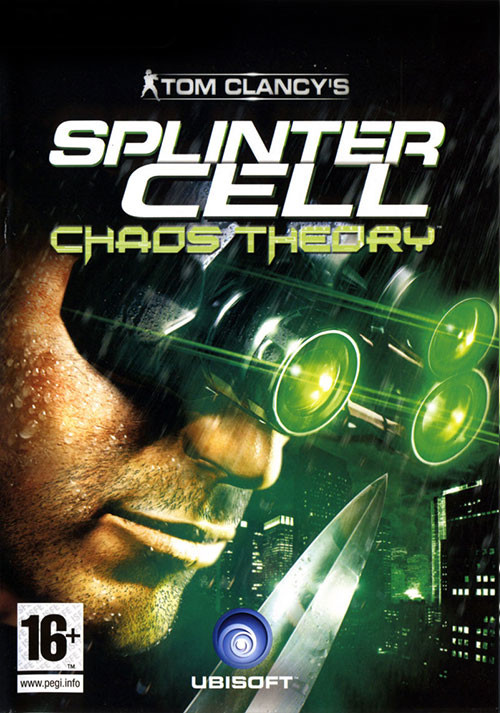 Splinter Cell Chaos Theory - Cover / Packshot