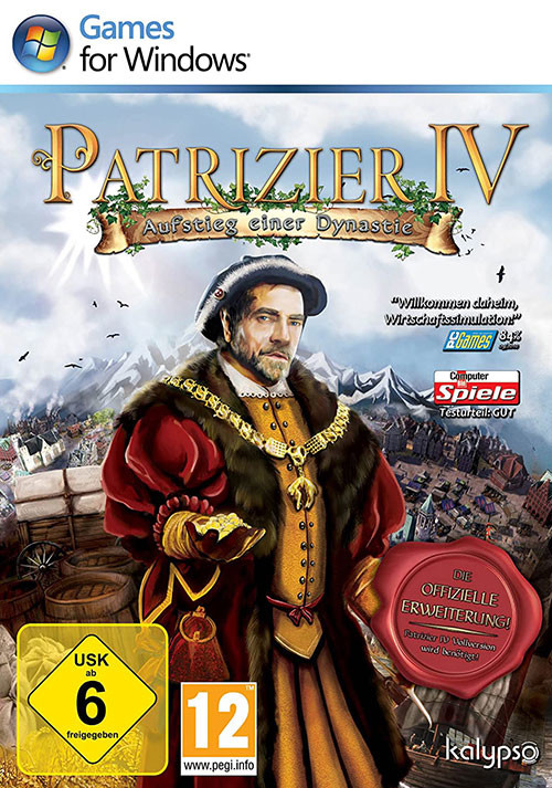Patrician IV - Rise of a Dynasty - Cover / Packshot