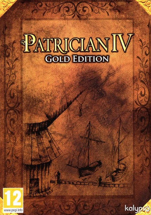 Patrician IV - Gold Edition - Cover