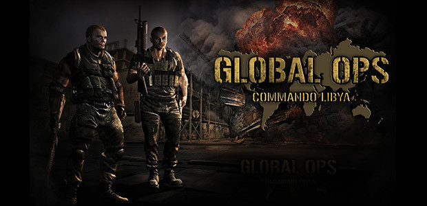 Global Ops: Commando Libya - Cover / Packshot