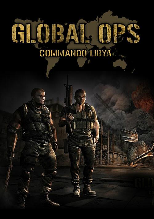 Global Ops: Commando Libya - Cover / Packshot