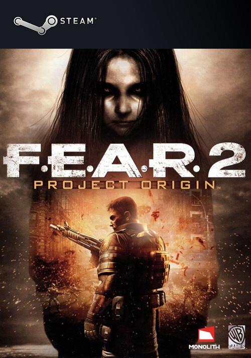 FEAR 2: Project Origin - Cover / Packshot