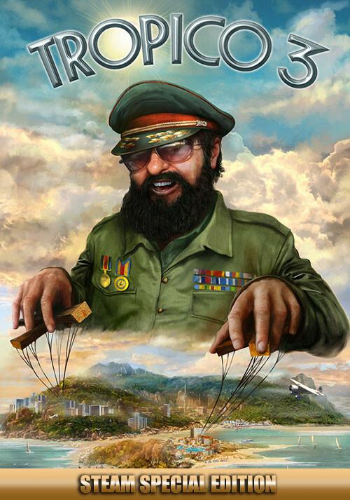 Tropico 3 - Steam Special Edition - Cover