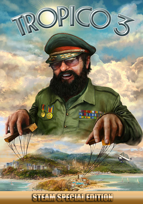 Tropico 3 - Steam Special Edition - Cover