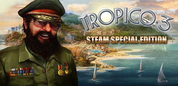 Tropico 3 - Steam Special Edition - Cover / Packshot