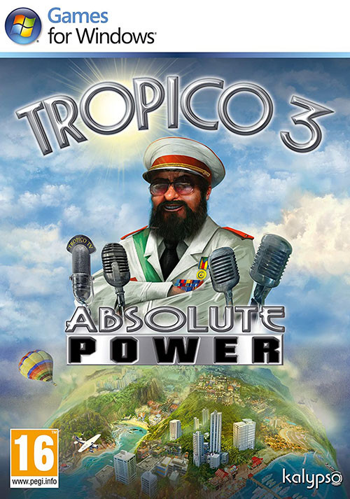 Tropico 3: Absolute Power - Cover
