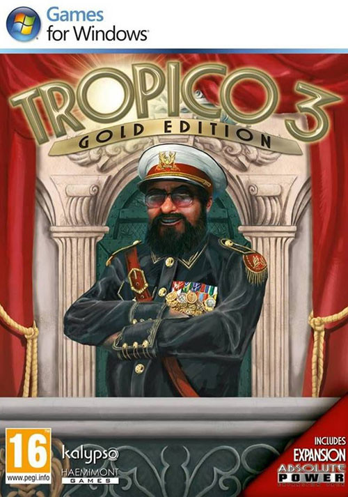 Tropico 3 Gold Edition - Cover
