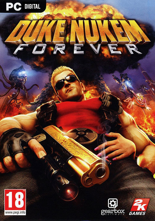Duke Nukem Forever - Cover