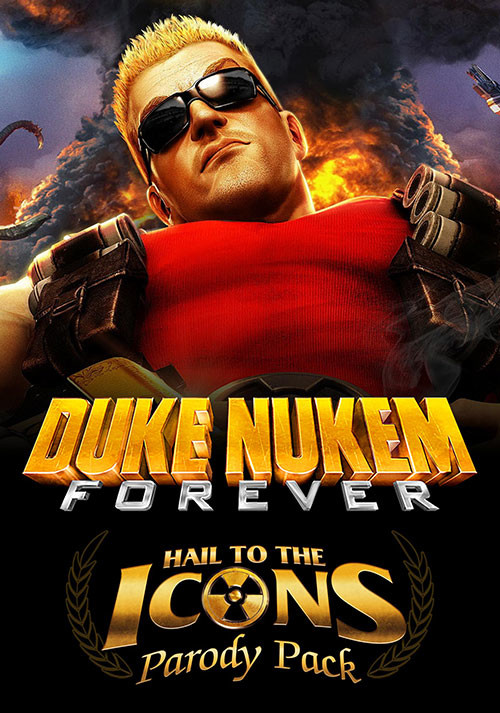 Duke Nukem Forever - Hail to the Icons Parody Pack DLC 1 - Cover / Packshot