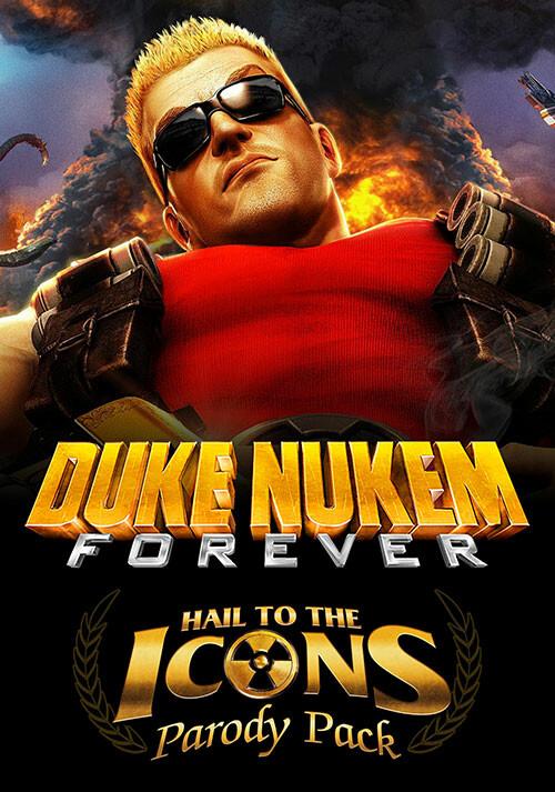Duke Nukem Forever - Hail to the Icons Parody Pack DLC 1 - Cover / Packshot