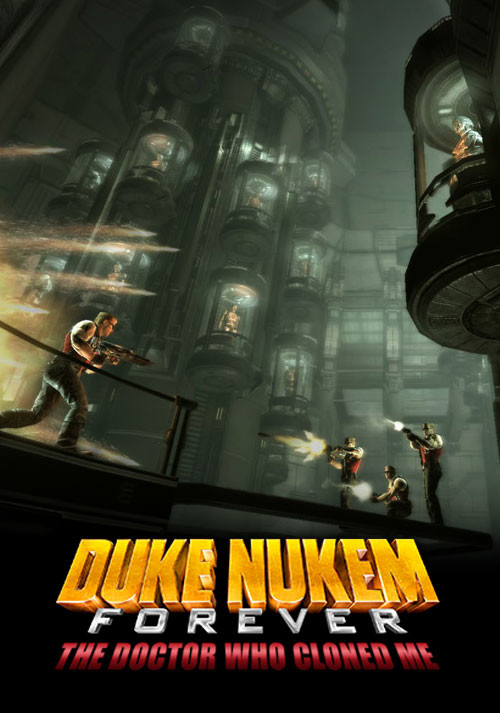 Duke Nukem Forever: The Doctor Who Cloned Me DLC 2 - Cover / Packshot