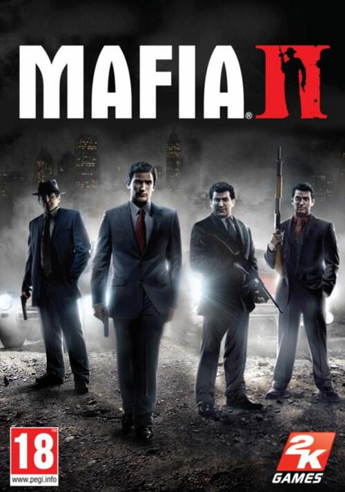 Mafia II - Cover