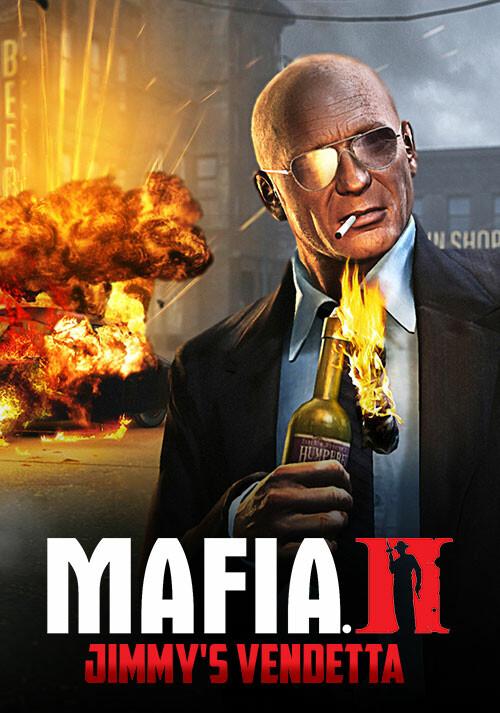 Mafia II: Jimmy's Vendetta DLC - Cover / Packshot