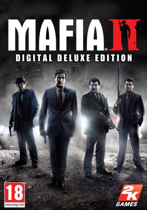 Mafia II: Digital Deluxe Edition - Cover / Packshot