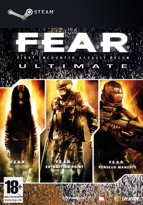 F.E.A.R. Ultimate Shooter Edition - Cover