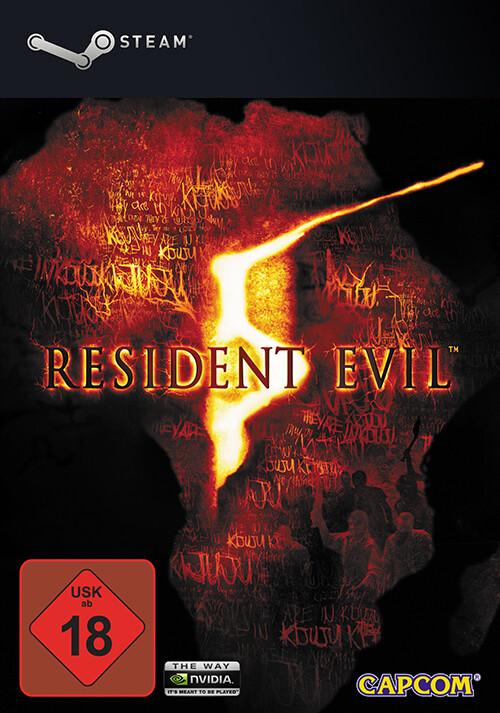 Resident Evil 5 - Cover / Packshot