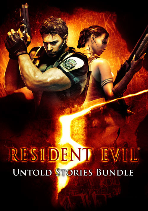 Resident Evil 5 - UNTOLD STORIES BUNDLE - Cover