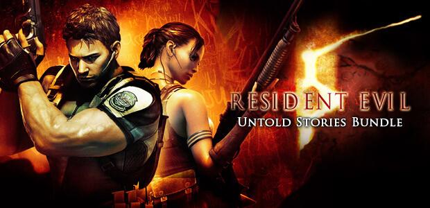 Resident Evil 5 - UNTOLD STORIES BUNDLE - Cover / Packshot