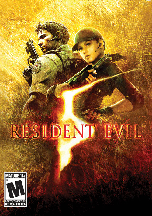 Resident Evil 5 Gold Edition - Cover