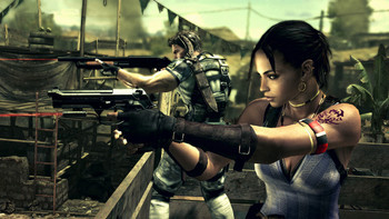 Screenshot1 - Resident Evil 5 Gold Edition